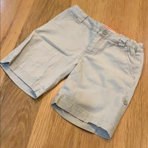 Cherokee Khaki Boys Camp or School Shorts Size 7-8